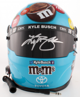 Kyle Busch Signed NASCAR M&M Hazelnut Spread Full-Size Helmet (PA COA) at PristineAuction.com