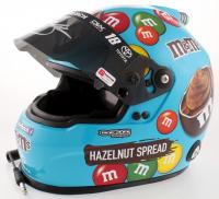 Kyle Busch Signed NASCAR M&M Hazelnut Spread Full-Size Helmet (PA COA) at PristineAuction.com