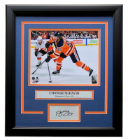Connor McDavid Edmonton Oilers 11x14 Custom Framed Matted Photo Display at PristineAuction.com