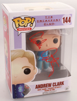 "Emilio Estevez Signed ""Andrew Clark"" #144 The Breakfast Club Funko Pop! Vinyl Figure (Schwartz COA) at PristineAuction.com"