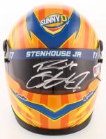 Ricky Stenhouse Jr. Signed NASCAR Sunny D 1:3 Scale Mini-Helmet (PA COA) at PristineAuction.com