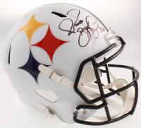 Jerome Bettis Signed Pittsburgh Steelers AMP Alternate Full-Size Speed Helmet (JSA COA) at PristineAuction.com