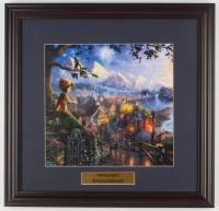 "Thomas Kinkade Walt Disney's ""Pinocchio"" 18x18.5 Custom Framed Print Display at PristineAuction.com"