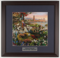 "Thomas Kinkade Walt Disney's ""101 Dalmatians"" 18x18.5 Custom Framed Print Display at PristineAuction.com"