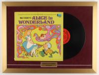 "Walt Disney's ""Alice in Wonderland"" 18x24 Custom Framed Vinyl Record Display at PristineAuction.com"