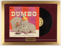 "Walt Disney's ""Dumbo"" 18x24 Custom Framed Vinyl Record Display at PristineAuction.com"