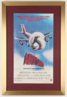 """""""Airplane!"""" 17x25 Custom Framed Movie Poster Display at PristineAuction.com"""