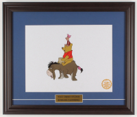 "Walt Disney's ""Winnie-the-Pooh"" 16.5x20.5 Custom Framed Hand-Painted Animation Serigraph Display at PristineAuction.com"