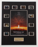 """""""Independence Day"""" LE 8x10 Custom Matted Original Film / Movie Cell Display at PristineAuction.com"""