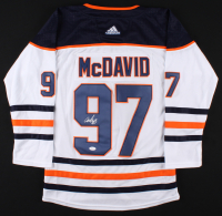 Connor McDavid Signed Edmonton Oilers Captains Jersey (JSA LOA) at PristineAuction.com