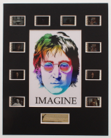 """John Lennon: Imagine"" LE 8x10 Custom Matted Original Film / Movie Cell Display at PristineAuction.com"