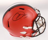 Odell Beckham Jr. Signed Cleveland Browns Full-Size Speed Helmet (JSA COA) at PristineAuction.com