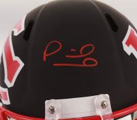 Patrick Mahomes Signed Kansas City Chiefs Full-Size AMP Alternate Speed Helmet (JSA COA) at PristineAuction.com