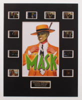 """The Mask"" LE 8x10 Custom Matted Original Film / Movie Cell Display at PristineAuction.com"