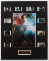 """Man of Steel"" LE 8x10 Custom Matted Original Film / Movie Cell Display at PristineAuction.com"