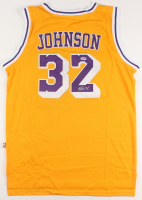 Magic Johnson Signed Los Angeles Lakers Jersey (PSA COA) at PristineAuction.com