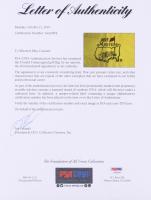 Donald Trump Signed 2015 Masters Tournament Pin Flag (PSA LOA) at PristineAuction.com
