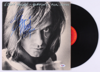 """Eddie Money Signed """"Playing for Keeps"""" Vinyl Record Album (PSA COA) at PristineAuction.com"""