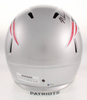N'Keal Harry Signed New England Patriots Full-Size Speed Helmet (Beckett COA) at PristineAuction.com