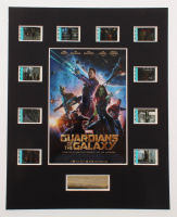 """Guardians of the Galaxy"" LE 8x10 Custom Matted Original Film / Movie Cell Display at PristineAuction.com"