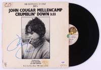 "John Mellencamp Signed John Cougar Mellencamp ""Crumblin' Down"" Vinyl Record Album (PSA COA) at PristineAuction.com"