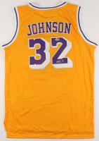 Magic Johnson Signed Los Angeles Lakers Jersey (PSA COA) at PristineAuction.com