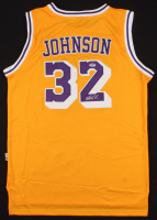 Magic Johnson Signed Los Angeles Lakers Jersey (PSA Hologram) at PristineAuction.com