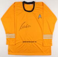 William Shatner Signed LE Prop Uniform Shirt (PSA COA) at PristineAuction.com