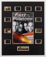 """The Fast & The Furious"" LE 8x10 Custom Matted Original Film / Movie Cell Display at PristineAuction.com"