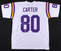 Cris Carter Signed Jersey (Beckett COA) at PristineAuction.com