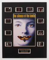 """The Silence Of The Lambs"" LE 8x10 Custom Matted Original Film / Movie Cell Display at PristineAuction.com"