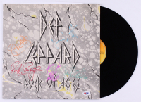 "Def Leppard ""Rock of Ages"" Vinyl Record Album Band-Signed by (5) with Phil Collen, Rick Allen, Rick Savage, Joe Elliott & Steve Clark (PSA LOA) at PristineAuction.com"