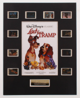 """Lady & The Tramp"" LE 8x10 Custom Matted Original Film / Movie Cell Display at PristineAuction.com"