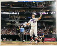 """Pete Alonso Signed New York Mets 16x20 Photo Inscribed """"19 HR Derby Champ"""" (MLB Hologram & Fanatics Hologram) at PristineAuction.com"""