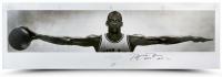 "Michael Jordan Signed LE Chicago Bulls ""Wings"" 23x72 Poster Inscribed ""2009 HOF"" (UDA COA) at PristineAuction.com"