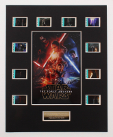 """Star Wars: Episode VII – The Force Awakens"" LE 8x10 Custom Matted Original Film / Movie Cell Display at PristineAuction.com"