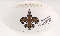 Drew Brees Signed New Orleans Saints Logo Football (PSA COA) at PristineAuction.com