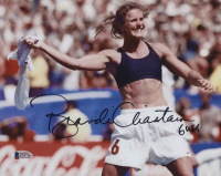 "Brandi Chastain Signed Team USA 8x10 Photo Inscribed ""USA"" (Beckett COA) at PristineAuction.com"