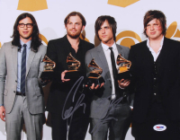 """Caleb Followill & Jared Followill Signed """"Kings of Leon"""" 11x14 Photo (PSA Hologram) at PristineAuction.com"""