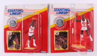 Lot of (2) Michael Jordan 1991 Special Edition Starting Lineup Action Figures at PristineAuction.com