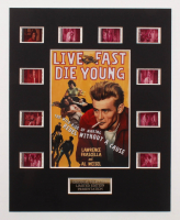 """Live Fast Die Young"" LE 8x10 Custom Matted Original Film / Movie Cell Display at PristineAuction.com"
