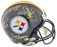 """Steel Curtain"" Steelers Full-Size Authentic On-Field Helmet Signed by (4) with Joe Greene, Ernie Holmes, L. C. Greenwood & Dwight White (Beckett Hologram) at PristineAuction.com"