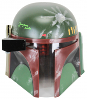 "Jeremy Bulloch Signed ""Star Wars"" Boba Fett Full-Size Helmet Inscribed ""Boba Fett"" (Beckett COA) at PristineAuction.com"