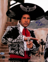 """Chevy Chase Signed """"Three Amigos"""" 11x14 Photo (Beckett COA & Chase Hologram) at PristineAuction.com"""