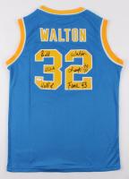 "Bill Walton Signed UCLA Bruins Jersey Inscribed ""UCLA Champs '72 '73"" & ""Hall of Fame '93"" (JSA COA) at PristineAuction.com"