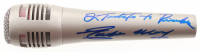 "Eddie Money Signed Microphone Inscribed ""2 Tickets to Paradise"" (PSA Hologram) at PristineAuction.com"