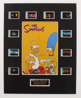 """The Simpsons Movie"" LE 8x10 Custom Matted Original Film / Movie Cell Display at PristineAuction.com"