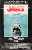 "Richard Dreyfuss Signed ""Jaws"" 24x36 Movie Poster (JSA COA & Dreyfuss Hologram) at PristineAuction.com"