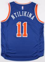 Frank Ntilikina Signed New York Knicks Jersey (JSA COA & Ntilikina COA) at PristineAuction.com