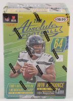 2018 Panini Absolute Football  Box with (64) Cards at PristineAuction.com